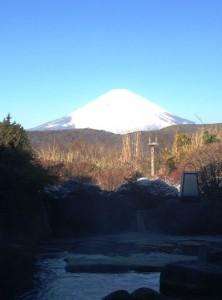 箱根 富士山
