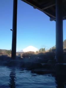 富士山露天風呂